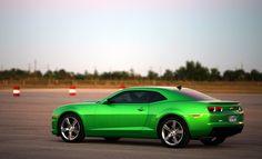 2010+ Synergy Green Chevrolet Camaro