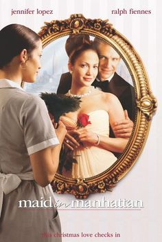 Directed by Wayne Wang.  With Jennifer Lopez, Ralph Fiennes, Natasha Richardson, Stanley Tucci. A senatorial candidate falls for a hotel maid, thinking she is a socialite when he sees her trying on a wealthy woman's dress.