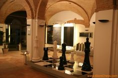 Wooden Giant Chess as Home Fruniture Decoration