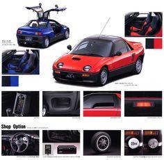 Mazda Autozam AZ 1 Gullwing