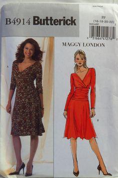 Butterick 4914 Misses' Dress