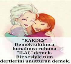 My brother- Kardeşim My brother - Beautiful Gif, Beautiful Words, Live Love Life, Cool Words, Animals And Pets, Winnie The Pooh, Quotations, Bff, Disney Characters