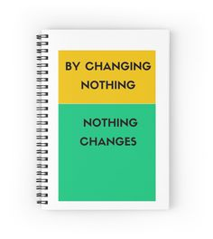 By changing nothing nothing changes #notepad