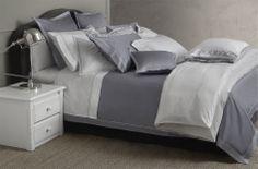 Bellora Luxury Collection. #luxury #interiordesign #home #bedlinen #sateen #quality #bellora #grey #white #bed