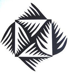 Butterflies & Leaves Jennifer Gould Designs Grass Monster Jennifer Gould Designs www. Notan Design, Notan Art, Composition Art, 6th Grade Art, Linoprint, Square Art, School Art Projects, 2d Art, Teaching Art