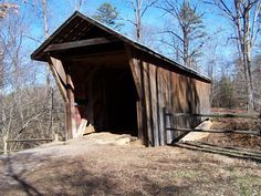 Bunker Hill Covered Bridge, Claremont, NC