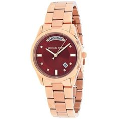 Shop for Michael Kors Women's MK6103 Colette Round Rosetone Bracelet Watch. Get free delivery at Overstock.com - Your Online Watches Shop! Get 5% in rewards with Club O!