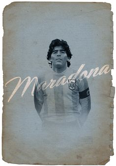 Maradona // Cruyff y los 5 grandes on Behance