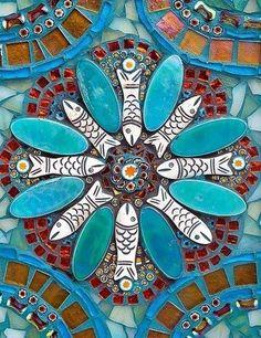 Mosaik Fisch