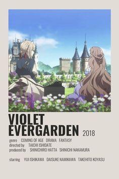 Anime Shojo, Anime Ai, Film Anime, Anime Titles, Animes To Watch, Anime Watch, Poster Minimalista, Poster Anime, Bakugou Manga