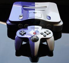 Custom Majora's Mask Nintendo 64 console by Zoki64 on DeviantArt. via: http://zoki64.deviantart.com/