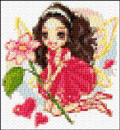 Cross Stitch   Fairy of Love xstitch Chart   Design