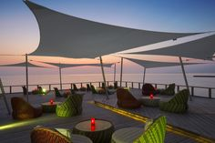 Dare to dream away with Umbrosa in the Maldives  Umbrosa invites you to a faraway island fantasy in the Maldives to discover one of its latest most stunning Ingenua shade sail installations at the Velassura resort. Gente sands leading you to the wat