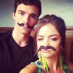 i mustache you a question...are they not cute together? i definitely ship them