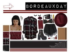 """Bordeaux Day"" by melaccamarina on Polyvore featuring moda, Redopin, Rails, UNIF, Paul Smith, The Cambridge Satchel Company, Moschino, MAC Cosmetics e Bobbi Brown Cosmetics"