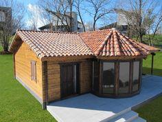 casa-de-madera-economica-logroño-micasademadera Ideas Para, Gazebo, House Plans, Shed, Villa, Outdoor Structures, Interior, Home Decor, Israel