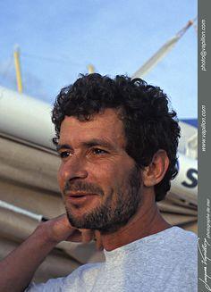 1995 - Christophe Auguin - Arrivée Boc Challenge
