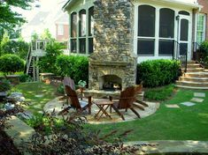 Patio Fireplaces Design Ideas, Pictures, Remodel and Decor