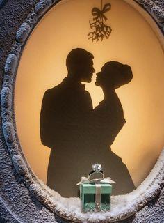 Glamour Christmas: Tiffany & Co. New York Christmas window display