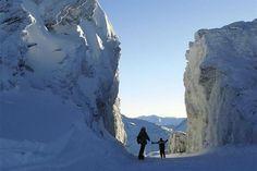 Lugares donde practiqué ski .Nieve 2012, Cerro Castor, Ushuaia  www.hotelesaustralis.com.ar