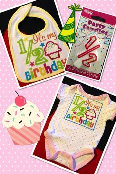 1 2 Half Birthday