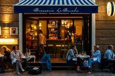 Französische Bistro-Küche in München Schwabing: Brasserie La Bouche
