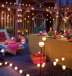 decoracion hippie chic para fiestas - Buscar con Google