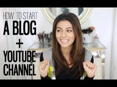 A lot of you ask questions about how to start a blog and YouTube channel, so I'm giving you some of the basics of both! My beauty blog: http://missmaven.com ...