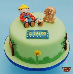 Bob the Builder Cake by www.jellycake.co.uk, via Flickr