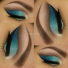 Teal.   Dipbrow Pomade Chocolate and Brow...
