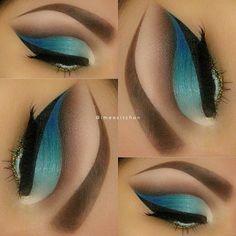 Teal eye make up  - @ imeesitchon