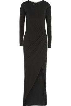 Dagmar Martika wrap-effect jersey maxi dress | NET-A-PORTER
