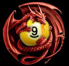 Dragon with 9-ball