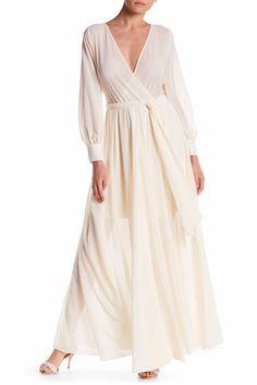 54429608c24 Lilypad Faux Wrap Maxi Dress Petite Fashion Tips