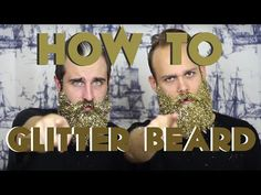 Holiday Glitter Beards Are A Thing & We Need To Discuss Glitter Slime, Glitter Bomb, Glitter Shoes, Glitter Nails, Beard Decorations, Crazy Beard, Beard Trend, Glitter Beards, Glitter Iphone 6 Case