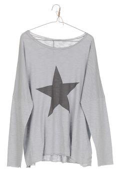 camiseta STAR gris