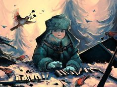 Stunning Illustrations by Cyril Rolando This guy blows my mind!