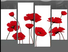 poppies paintings canvas - Google Search