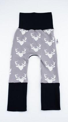 Coton Vanille - Pantalon Évolutif - Pantalon évolutif : Cerf (Noir) - 2