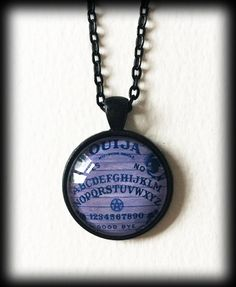 Ouija Board Necklace, Gothic Pendant, Purple Ouija Board, Glass Cameo Pendant, Witchy Occult Jewelry, Halloween Necklace, Gothic Gift by WhisperToTheMoon on Etsy Gothic Jewelry, Luxury Jewelry, Boho Jewelry, Gothic Necklaces, Jewelry Box, Jewlery, Small Necklace, Cameo Pendant, Ouija