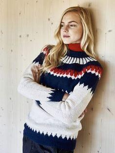 Naisen kirjoneule Novita Nalle   Novita knits