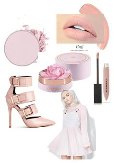 """Past now, Young pastel"" by mwellman-1 on Polyvore featuring Burberry, Lancôme and Macaron Hombeth"
