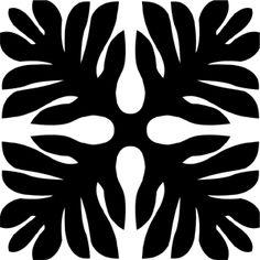 Hawaiian Quilt Tile 30 : HaoleKid