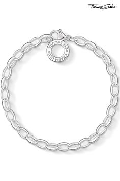 Buy Thomas Sabo Charm Club Silver Charm Bracelet from the Next UK online shop Silver Charm Bracelet, Silver Charms, Silver Bracelets, Charm Bracelets, Bijoux Thomas Sabo, Silver Prices, Expensive Jewelry, Unique Bracelets, Bracelet Making