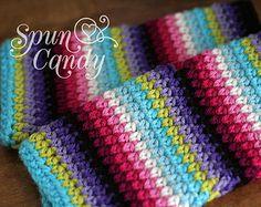 Crochet Striped Fingerless Gloves, SpunCandy, Best Seller, Fingerless Mitts, Photographer Gloves, Striped Mittens, Wrist Warmers