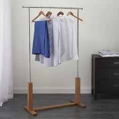 Crate & Barrel Garment Rack | Remodelista