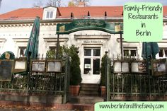 Review of Villa Rixdorf in Neukölln, one of many family-friendly eateries in the city. #Berlin