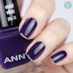 ANNY Ultra Violett Kollektion – Trendfarbe 2018 als Nagellack – Violet Vibes – swatch by frischlackiert