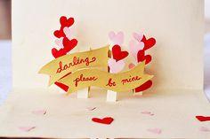 adoro FARM - faça você mesma: cartão de namorados