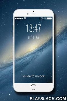 Phone Lock Screen - OS8 Style  Android App - playslack.com , Currently the phone6 and phone6 plus are very popular, i think you also want to experience this product, I trust this app would suits you best.This is a Phone lock screen app with OS8 style, it will make your phone looks like an real phone6. When you show to your friends, they must be surprised that you have a phone. And this app provide plenty of OS8 HD wallpapers. Download and install this app, it can make your phone looks…